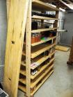 "Custom Wood Shelves, 80""H x 96""W x 17.5""D, Qty 2, Contents Not Included, Buyer Resposible For Proper Removal"