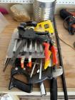 Stanley Shears, DeWalt Drill Bits, Hand Saw, Buck Rose 6-Piece Carving Set, Quick Grip Bar Clamp, Asst Sizes, Qty 6