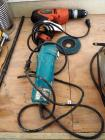 "Black And Decker Drill, 120 Vt, Model #DR220G, Makita 4"" Angle Grinder Model # N9514B"