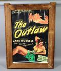"""The Outlaw"" Howard Hughes Jane Russell Movie Poster Print, Framed, 34""W x 45""H"