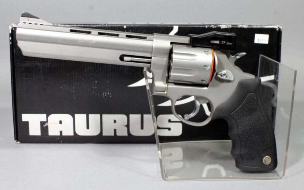 Taurus M608 CP 8-Shot Revolver,  357 Magnum, SN# GM738439, 6 5