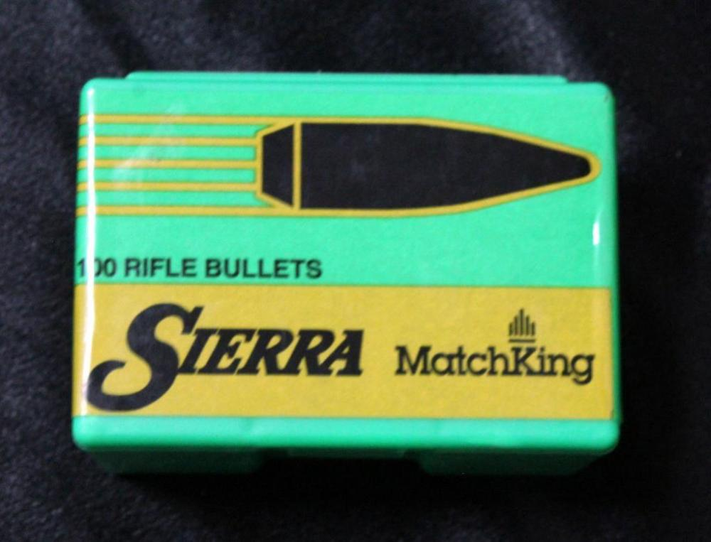 Sierra MatchKing 30 Cal  308 175 Gr HPBT Bullets, Qty 100