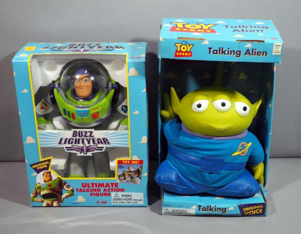 thinkway toys disney s toy story buzz lightyear ultimate talking