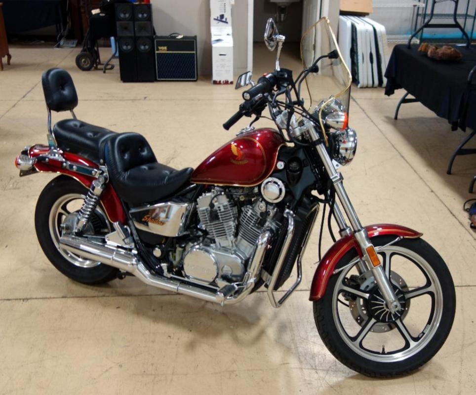 Lot 6 Of 5 1987 Honda Shadow Vt700 Motorcycle 2857 Miles Vin Jh2rc1905hm302936: Honda Shadow Vt700 Tachometer Wiring At Executivepassage.co