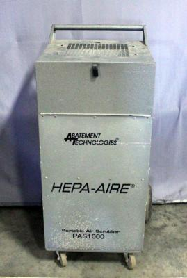 Abatement Technologies HEPA-AIRE PAS-1000 Negative Air / Air Scrubber Machine