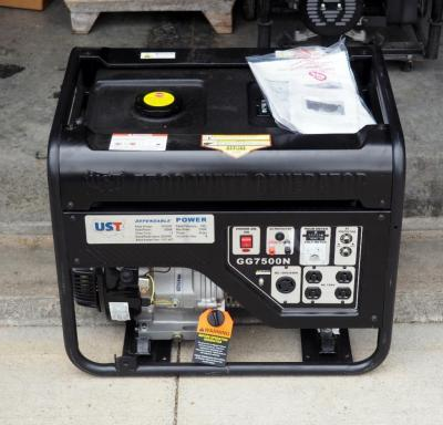 Ultimate Solution Tools GG7500N Series Gasoline Generator 120/240v, 6000w With Original Owners Manual