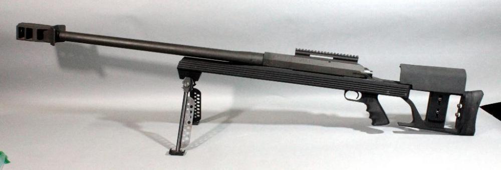 Armalite AR-50 A1 Bolt-Action Rifle,  50 BMG, SN# 373891, Bipod