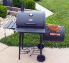 Char-Griller Grill And Smoker With Cover And Electric Charcoal Lighter