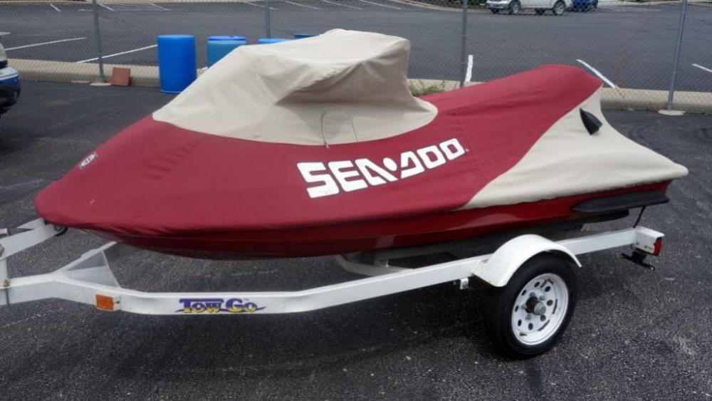 1998 Sea Doo GTX LTD, VIN# ZZN88237C898 Jet Ski with Cover