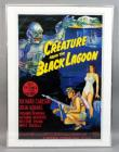 "Universal Pictures ""Creature From the Black Lagoon"" Universal Monsters Classic Horror Movie Poster Print, Framed, 24""W x 32""H"