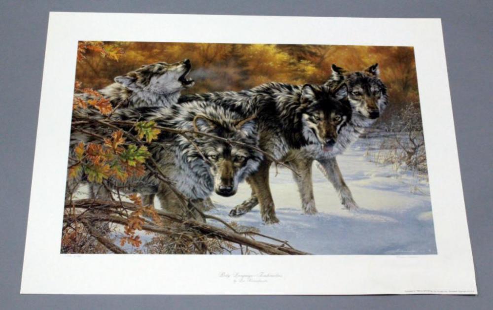 Lee Kromschroeder Body Language Timberwolves Limited Edition