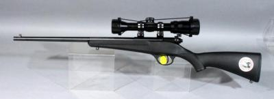 "Savage Arms ""Rascal"" Youth Rifle, .22 SLLR, SN# 2108806, Bushnell Banner 71-1545 AJ Waterproof Riflescope"