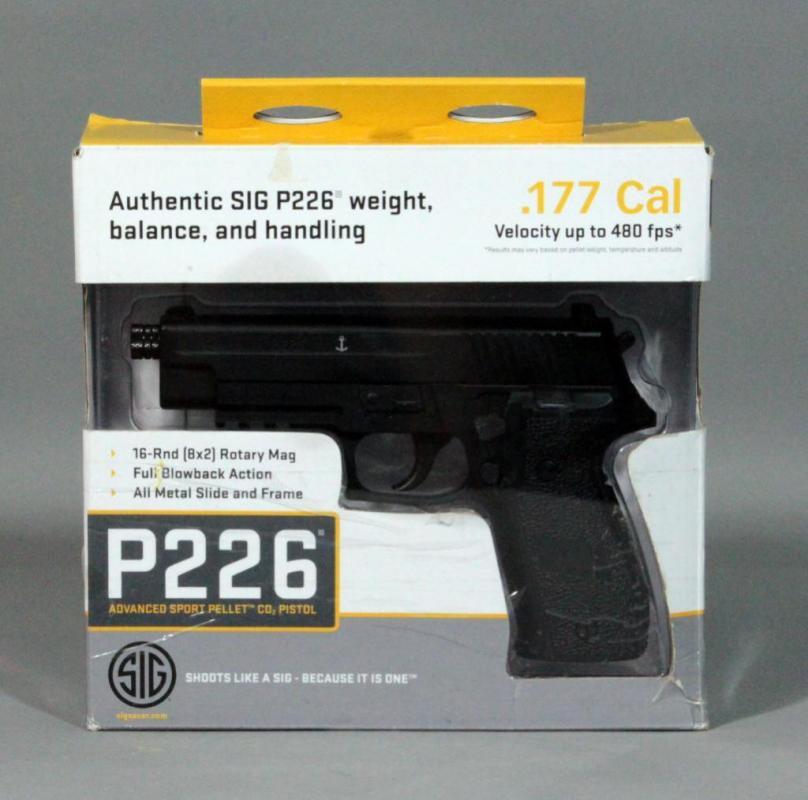 Sig Sauer P226 Advanced Sport Pellet CO2 Air Pistol,  177 Cal BB, SN