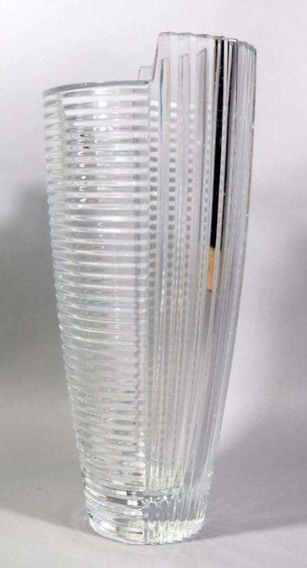 Shannon Irish Lead Crystal Vase 14h