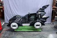 "1995 Kiddie's Batman Forever Batmobile Coin Operated Kiddie Ride, Model Batmobile, SN# 10403, 85""L x 34""W x 49""H, Works, See Video"