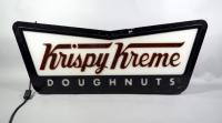 "Krispy Kreme Doughnuts Brite Sign Products No. GT 226572 Illuminated Advertising Sign, 35.5""W x 14""H, May Need New Bulbs"