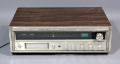 Fisher Integrated Component System Stereo Receiver, Model MC-3000, Powers Up
