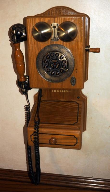Antique Replica Wall Phone 18 X