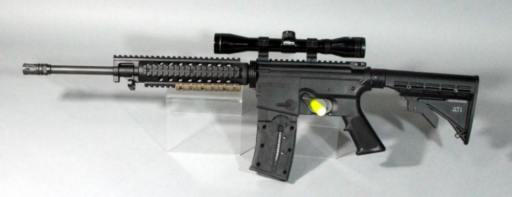 mossberg international 715t tactical ar training rifle 22 lr sn
