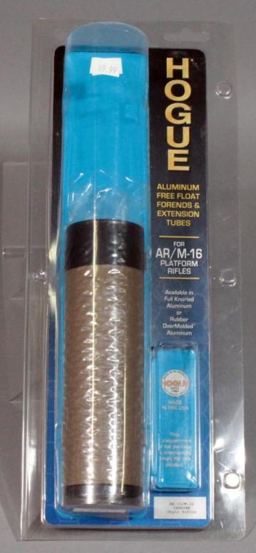 Hogue Aluminum Free-Float Forends & Extension Tubes for AR