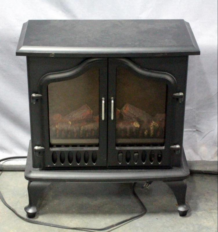 Lot 60comfort Zone Sa1965a Electric Portable Fireplace Heater