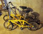 "Dahon Folding 3-Speed Bicycles Qty. 2, 15"" Wheels"