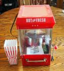 Nostalgia Electrics Kettle Popcorn Maker, Includes Manuel, Popcorn Cartons And Seasonings
