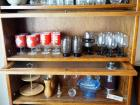 Collector's Tabasco Red Eye Cocktail Glasses And Assorted Dinnerware Glasses, 26 Total Pieces