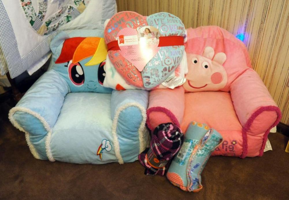 My Little Pony Peppa Pig Bean Bag Chairs Fleece Throws And Pillows