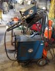 Millermatic 10-E Wire Welder And Miller Mig Welder Model CP-200 With Custom Stand And Compressed Air Tank