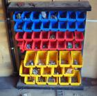 Parts Bins With Contents, Nuts, Bolts, Washers And More