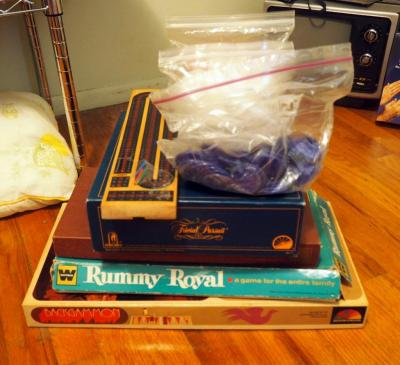 Assorted Board Games Including Rummy Royal, Scrabble, Trivial Pursuit And More