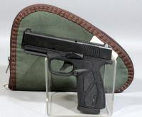 Bersa BP9CC 9MM Semi-Automatic Pistol SN# C89699 With Extra Magazine And Soft Case