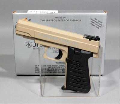 Jimenez Arms T-380 .380 Auto Semi-Automatic Pistol SN# 430465 With Box And Paperwork, New