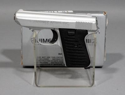 Jimenez Arms JA 22 .22 LR Semi-Automatic Pistol SN# 425044 With Box And Paperwork, New