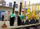 Assorted Toilet Plungers, Qty 11, New