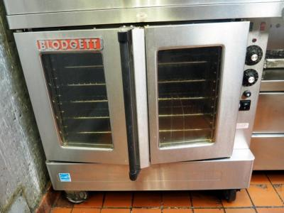Blodgett Single Deck Electric Oven Model # SHO-100-E, 208VT, 3 Phase, 11KW, Less than 6 Months Old, Bidder Responsible For Proper Removal