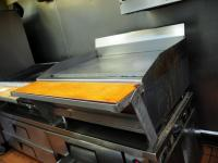 "MagiKitch'n MKG-36 Natural Gas Flat Top Griddle, 23"" x 36"" x 31.5"", 1"" Plate, Bidder Responsible For Proper Removal"