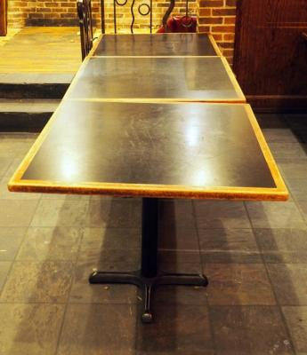 "4 Top 30"" Dining Tables With Metal Base, 30""x 36"" x 36"", Qty 3"