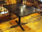 "4 Top 30"" Dining Tables With Metal Base, 30""x 45""x 33"", Qty 3"
