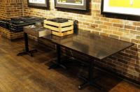 "4 Top 30"" Dining Tables With Metal Base, 30""x 36""x 36"", Qty 3, Contents Not Included"