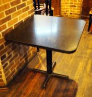 "4 Top 30"" Dining Tables With Metal Base, 30""x 30""x 30"""