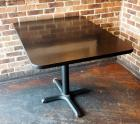 "4 Top 30"" Dining Tables With Metal Base, 30""x 45""x 33"""