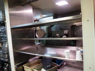 "Stainless Steel Resturant Shelving, 60"" x 27"", Qty 2, Bidder Responsible For Proper Removal"