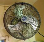 "Lasko 21"" Shop Fan , Mounted To Wall, Bidder Responsible For Proper Removal"