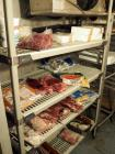 MetroMax Storage Racks With Adjustable Shelves, Assorted Sizes, Qty 3, Located In Walk In Freezer, Food Contents Not Included