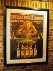 "French Grand Vin Blanc, Framed And Matted Poster, 54"" x 41"""