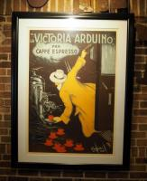 "French Victoria Arduino Framed And Matted Poster, 54"" x 41"""