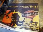 """Welcome To Tomfooleries"" Rubber Backed Mats, 56"" x 68"" Qty 2 And 57"" x 94"", Total Qty 3"