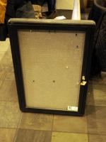 "Locking Metal Wall Display Case, 34"" x 24"""